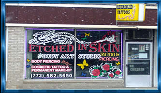 Etched in Skin Tattoo Shop
